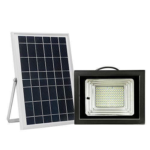 Lixada Led-schijnwerper op zonne-energie, 42 leds, parels, zonnelicht, buitenverlichting voor binnenplaats, oprit, zwembad.