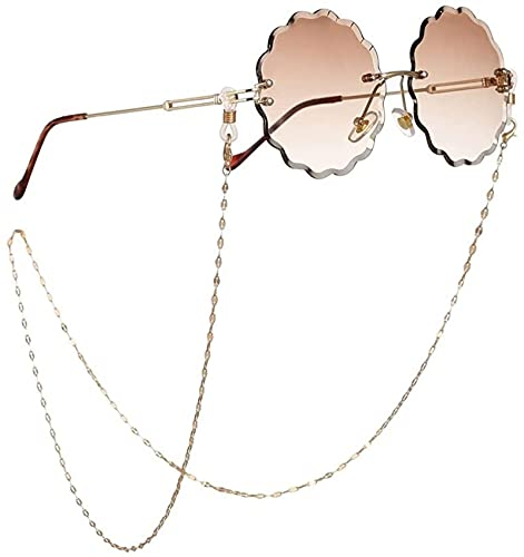 Cadena de Gafas para Mujer Cadena Trenzada Cordón Correa para Gafas Gafas de Sol Cordones Accesorios para Gafas Casuales