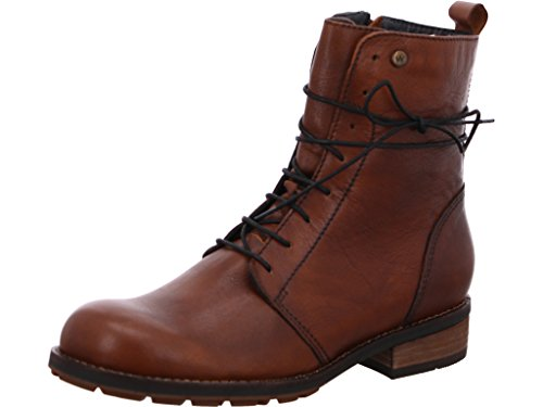 Wolky Comfort Boots Murray CW - 20430 Cognac Leder/Cold Winter Warmfutter - 41