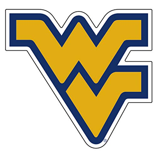 """WVU WEST VIRGINIA Mountaineers Large 11.5"""" Logo Decal"""