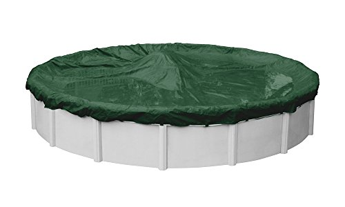 Robelle 3224-4 Dura-Guard Winter Pool Cover for Round Above Ground Swimming Pools, 24-ft. Round Pool