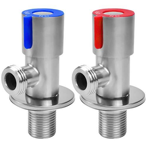 Válvula de Ángulo, Ducha Agua Fría y Caliente Válvula, V