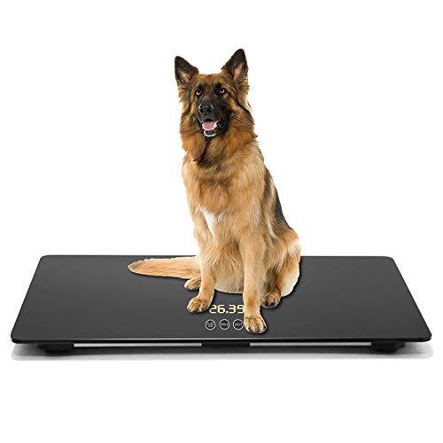 iBaby-Fish - Báscula digital grande para perros grandes, capacidad de 100 kg (± 10 g), tutton táctil, KG/LB/LB: OZ conmutable