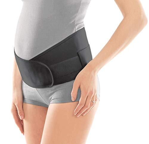 Cinturón de sujeción para embarazadas; alivio pélvico y de espalda; faja abdominal para embarazadas; banda de sujeción prenatal Small Negro