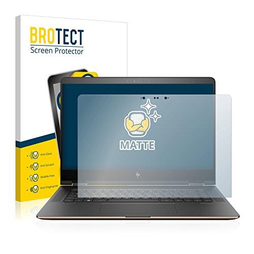 BROTECT Entspiegelungs-Schutzfolie kompatibel mit HP Spectre x360 15-bl101ng Bildschirmschutz-Folie Matt, Anti-Reflex, Anti-Fingerprint