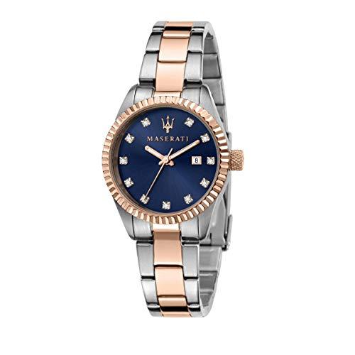Maserati Reloj Mujer, Colección COMPETIZIONE, en Acero, PVD Oro Rosa - R8853100507
