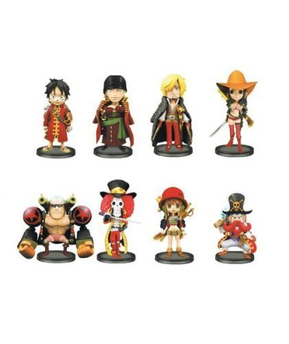 One Piece World Collectable Figure FILM Z vol.3 all eight species (japan import)