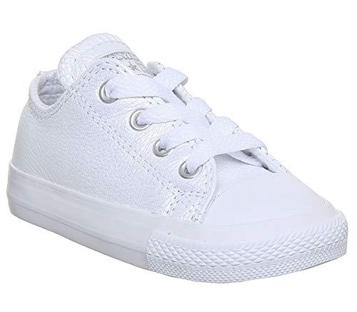 Converse Ctas Season Ox, Zapatillas De Gimnasia Para Niños Blanco Size: 25 Eu