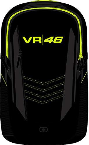 Valentino Rossi Colección VR46 Monster Camp Mochila, Unisex, Nero, Talla Única