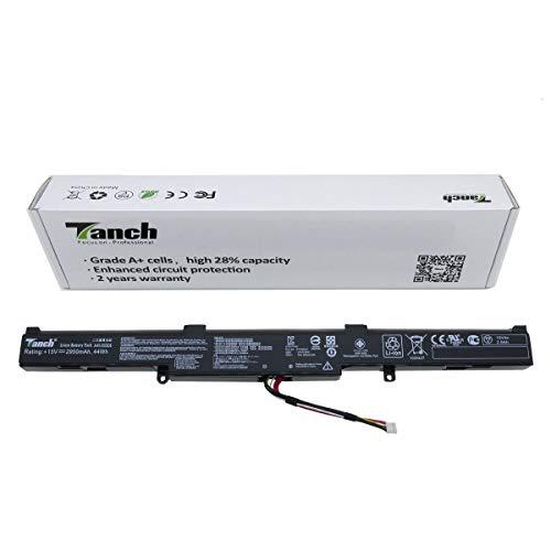 Tanch Batería del Ordenador portátil para A41-X550E ASUS A450 X450 X451 X450E K751L R751LN R752L R752LN X751BP X550E F450J P750LB X55LMH 15V 2950mAh 44W