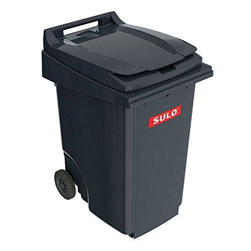 SULO 2 Rad Müllbehälter MGB 360, Inhalt 360 l - Dunkelgrau