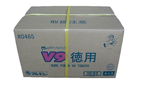 マルキュー グレパワーV9 徳用 3kg×8個入り [ケース売り]