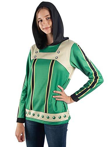 My Hero Academia Hoodie My Hero Academia Froppy Cosplay My Hero Academia-Large Green