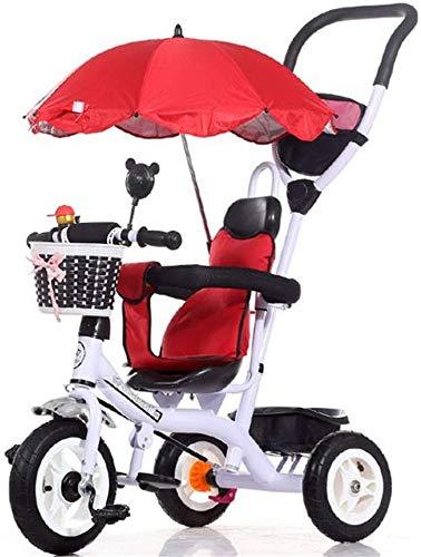 FEE-ZC universele kinderen driewieler zon luifel vouwfiets van 1-5 jaar fiets