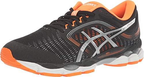 ASICS Men's Gel-Ziruss 3 Running Shoes, 8M, Black/White