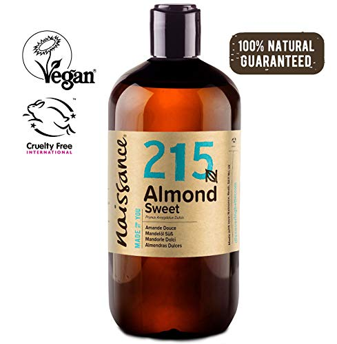Naissance Aceite de Almendras Dulces n. º 215 – 500ml - 100% natural para...