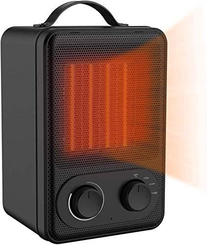 Calefactor Pequeños electrodomésticos Chimenea eléctrica, calentador de ventilador portátil - Cerámica y energéticamente eficientes del calentador de espacio Con el sobrecalentamiento y la inclinación