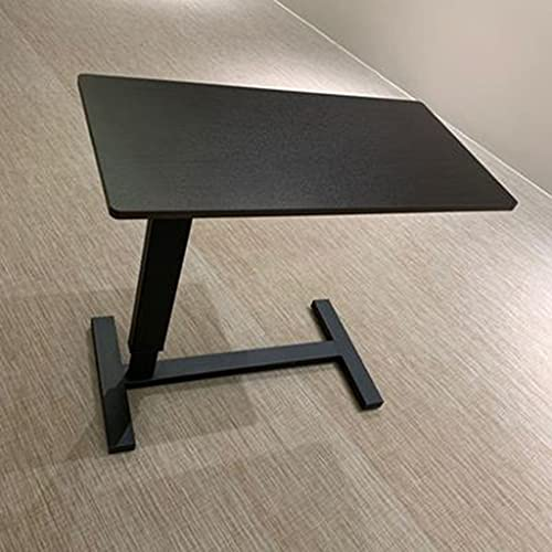 WERTYG Muebles de Escritorio de Computadora, Escritorio de Pie, Escritorio de Oficina Portátil con Estructura Ajustable de Altura Mesa Plegable (Color : B)