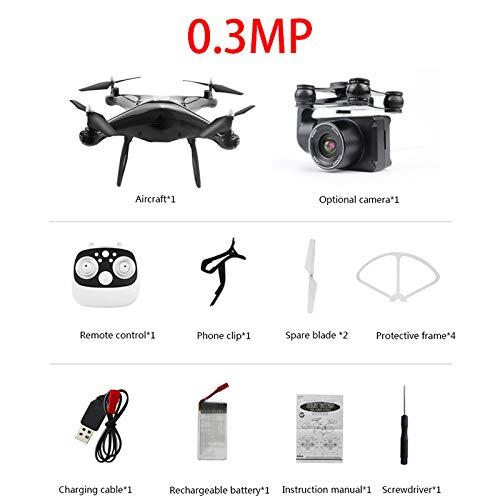 Tianzly Drohne HD 1080P WiFi ESC-Kamera RC Quad Hubschrauber 20 Minuten Flugzeit Luftdruck schweben eine Taste Rückkehr FPV Drohne