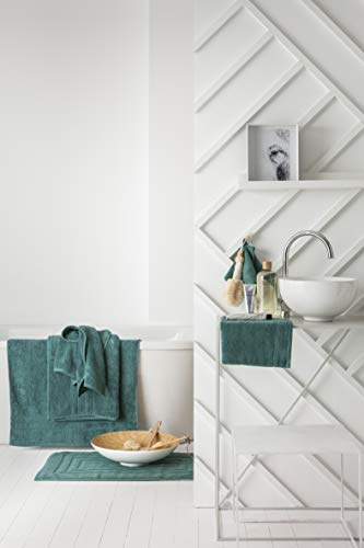 Today Lot de 2 Gants Coton, Vert Emeraude, 21x16 cm