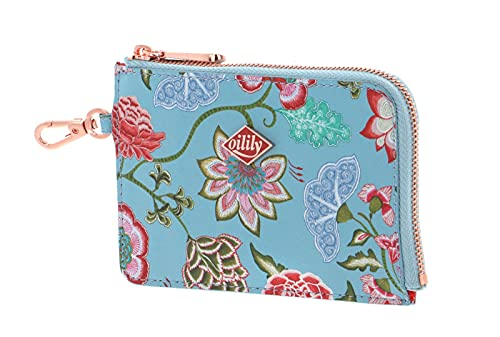 Oilily Royal Sits Card Zip Wallet Stratosphere