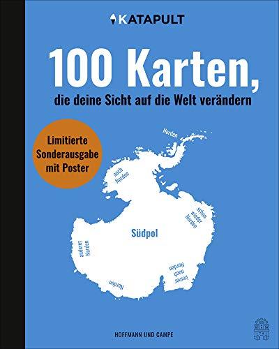 100 Karten, die deine Sicht auf die Welt verändern: Sonderausgabe mit Poster