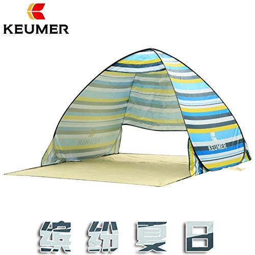 SDSA Tente Automatique Ultra-Légère Escamotable pour 2 Personnes, Parc, Plage, Loisirs De Plein Air Et Activités Intérieures, 150 * 180 * 100cm