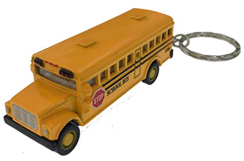 Kintoy Box 12: Die-cast Mini School Bus Keychain