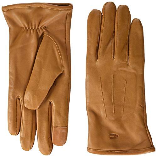 camel active Herren 408250/2G25 Handschuhe, Braun (Cognac 21), Large (Herstellergröße: L)