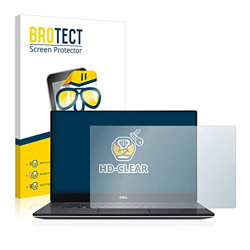 BROTECT Schutzfolie kompatibel mit Dell XPS 15 9560 klare Bildschirmschutz-Folie