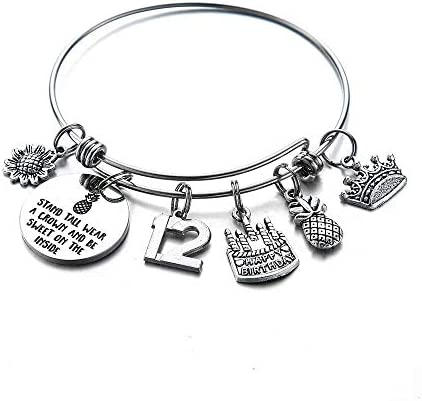 M MOOHAM Birthday Gifts for 12 Years Old Girl Stainless Steel Bangle Birthday Gifts for 12 Years product image
