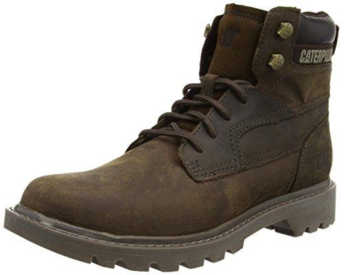 Cat Footwear Bridgeport, Zapatos de Seguridad Hombre, marrón-Braun (Mens Brown), 40