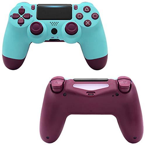 Manette de jeusans filPDTZpour manette de jeu PS4 PS4 GamepadFruit Blue
