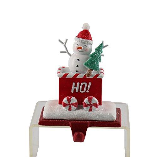 Gancio per calza di Natale ganci Santa ganci pesanti decorazioni natalizie caminetto arredamento (B)