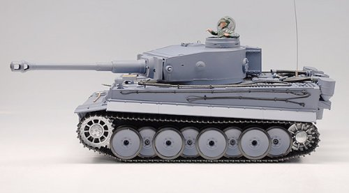 1:16 RC German Tiger I Tank Remote Control w/ Sound and Smoke