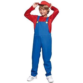 Disfraz Fontanero rojo niño infantil para Carnaval (2-4 años ...