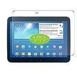 VacFun Lot de 4 Clair Film de Protection d'écran, compatible avec Samsung Galaxy Tab 3 10.1' P5200...