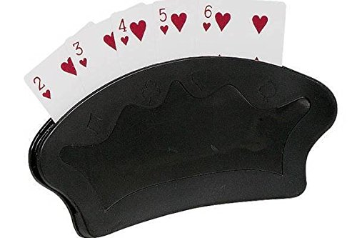 Fläkt form fristående spelkorthållare (två-pack)