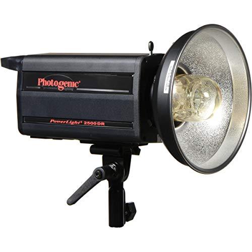 Photogenic PL2500DRC PowerLight Digital Remote Flash Unit, 1000ws, with UV Color...