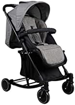 WDOPZMS Baby Stroller for Children - 3 in 1 Lightweight Foldable Multi-Functional Baby Stroller, Rocking Chair & Cradle & Pushchair for 0-36 Months - 41 72 100 cm (Color : Gray)