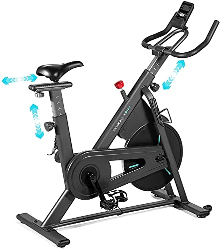 OVICX Stationary Spin Bike with Magnetic Resistance Exercise Bikes Indoor...
