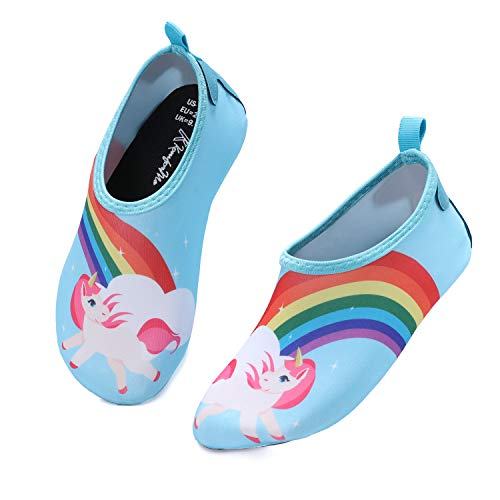 Toddler//Little Kid STQ Boys Girls Water Shoes Quick-Dry Slip on Beach Swim Pool Sandals