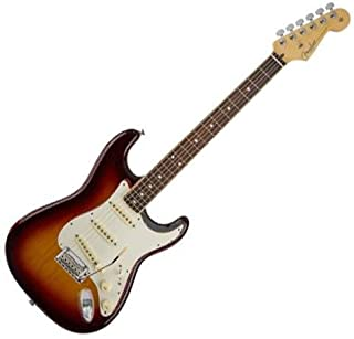Fender 2016 Limited Edition American Standard Stratocaster Channel Bound Guitar, 21 Frets, Modern C Neck, Rosewood Fingerboard, 3-Color Sunburst