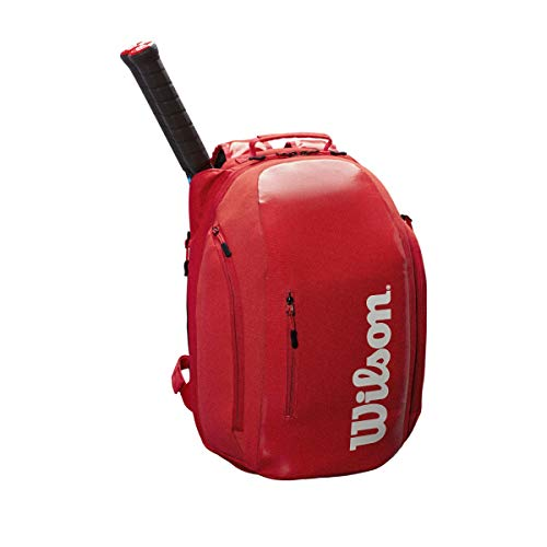 Wilson Sporting Goods Super Tour Backpack, Red/White