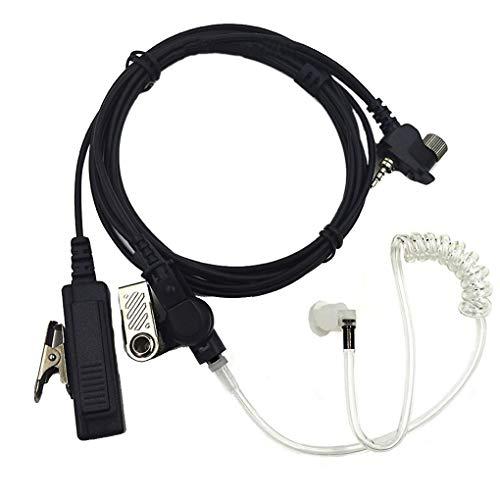 rongweiwang Akustische Luftschlauch Headset Hörmuschel PTT Ersatz für Radio MTH800 MTH600 MTH650 MTH850 MTP850 MTS850 Walkie Talkie