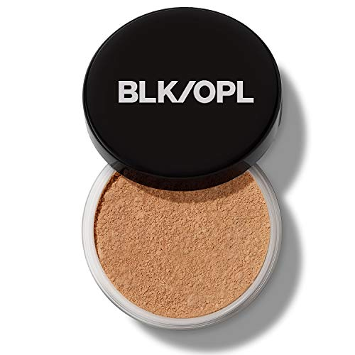 BLK/OPL TRUE COLOR Soft Velvet Finishing Powder, Medium — hypoallergenic, paraben-free, and cruelty-free