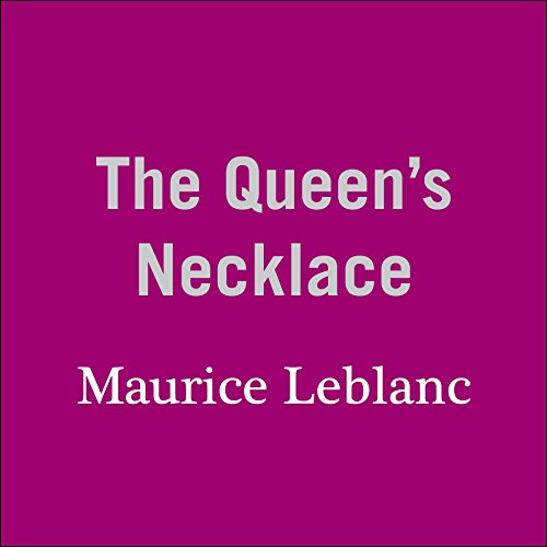 The Queen's Necklace audiobook cover art