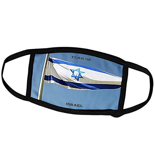 Promini Monatsmaske - Sandy Mertens Flags of the World - Flagge Israel Foto - Staubmaske Outdoor Schutzmaske