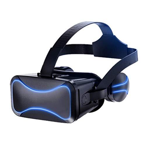 VR Headsets Virtual Reality Headset VR Goggles Gläser für 3D VR Filme Videospiele für iPhone 12 / Pro / Max / Mini / 11 / X / X / 8/7 für Samsung & Android-Telefone, W / 4.7-6.8in