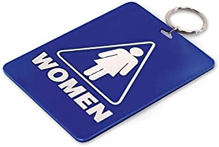 Lucky Line Restroom Key Tag, Womens (53000)